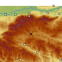 Nearby Forecast Locations - Luonan - Χάρτης