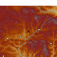 Nearby Forecast Locations - Liangdang - Χάρτης