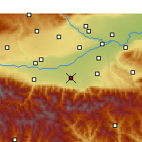 Nearby Forecast Locations - Hu - Χάρτης
