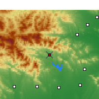 Nearby Forecast Locations - Nanzhao - Χάρτης