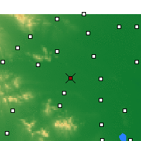 Nearby Forecast Locations - Ye Xian - Χάρτης