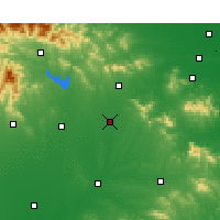 Nearby Forecast Locations - Sheqi - Χάρτης