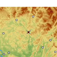 Nearby Forecast Locations - Pingchang - Χάρτης