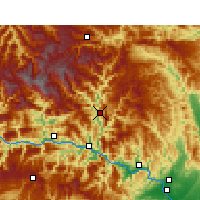 Nearby Forecast Locations - Xingshan - Χάρτης