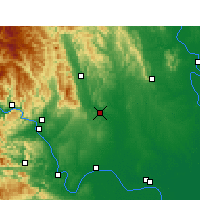 Nearby Forecast Locations - Dangyang - Χάρτης