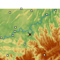 Nearby Forecast Locations - Hejiang - Χάρτης