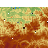 Nearby Forecast Locations - Xuyong - Χάρτης