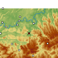 Nearby Forecast Locations - Chishui - Χάρτης