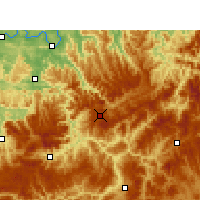Nearby Forecast Locations - Xishui/GZH - Χάρτης