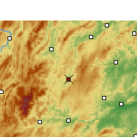 Nearby Forecast Locations - Songtao - Χάρτης