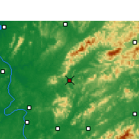 Nearby Forecast Locations - Liuyang - Χάρτης