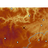 Nearby Forecast Locations - Jinsha - Χάρτης