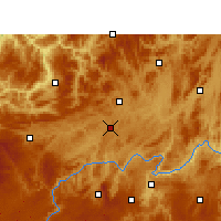 Nearby Forecast Locations - Zunyi - Χάρτης