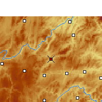 Nearby Forecast Locations - Yu  qing - Χάρτης