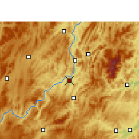 Nearby Forecast Locations - Kuangtou - Χάρτης