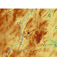 Nearby Forecast Locations - Yinjiang - Χάρτης
