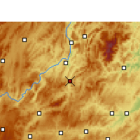 Nearby Forecast Locations - Shiqian - Χάρτης