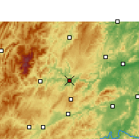 Nearby Forecast Locations - Tongren - Χάρτης