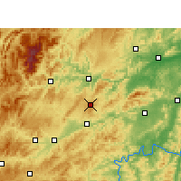 Nearby Forecast Locations - Wanshan - Χάρτης