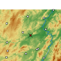 Nearby Forecast Locations - Mayang - Χάρτης