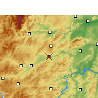 Nearby Forecast Locations - Xinhuang - Χάρτης