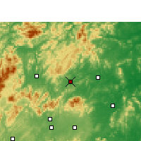 Nearby Forecast Locations - Lianyuan - Χάρτης