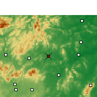 Nearby Forecast Locations - Loudi - Χάρτης