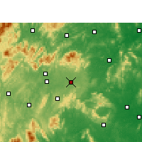 Nearby Forecast Locations - Shaodong - Χάρτης
