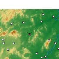 Nearby Forecast Locations - Shuangfeng - Χάρτης