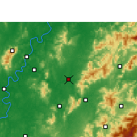 Nearby Forecast Locations - You Xian - Χάρτης