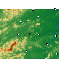 Nearby Forecast Locations - Fenyi - Χάρτης