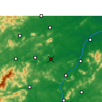 Nearby Forecast Locations - Xinyu - Χάρτης