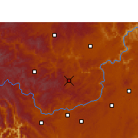 Nearby Forecast Locations - Zhijin - Χάρτης
