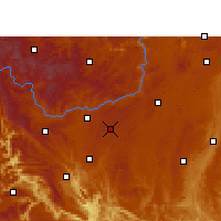 Nearby Forecast Locations - Anshun - Χάρτης