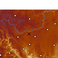 Nearby Forecast Locations - Puding - Χάρτης