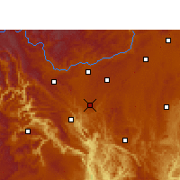 Nearby Forecast Locations - Zhenning - Χάρτης