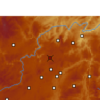 Nearby Forecast Locations - Xiuwen - Χάρτης