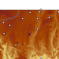 Nearby Forecast Locations - Changshun - Χάρτης