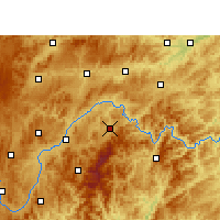 Nearby Forecast Locations - Taijiang - Χάρτης