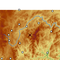 Nearby Forecast Locations - Leishan - Χάρτης