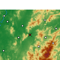 Nearby Forecast Locations - Chaling - Χάρτης