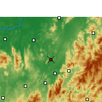 Nearby Forecast Locations - Yongxing - Χάρτης