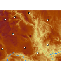 Nearby Forecast Locations - Zhenfeng - Χάρτης