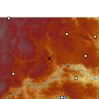 Nearby Forecast Locations - Xingyi - Χάρτης