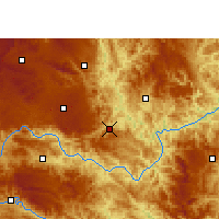 Nearby Forecast Locations - Ceheng - Χάρτης