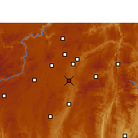 Nearby Forecast Locations - Huaxi - Χάρτης