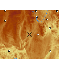 Nearby Forecast Locations - Pingtang - Χάρτης