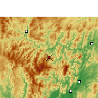 Nearby Forecast Locations - Congjiang - Χάρτης