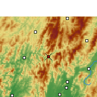 Nearby Forecast Locations - Longsheng - Χάρτης