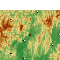 Nearby Forecast Locations - Rongan - Χάρτης